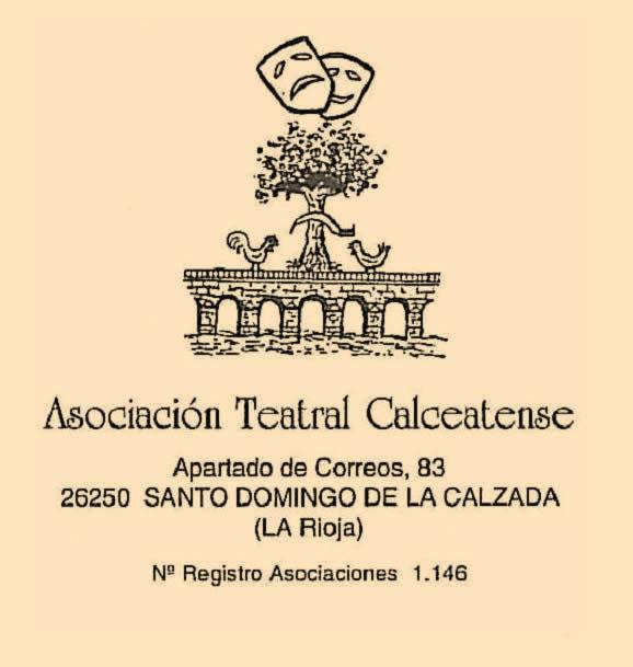 Anagrama de la asociación teatral calceatense